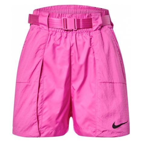 Nike Sportswear Spodnie 'W NSW SWSH SHORT WVN' fuksja
