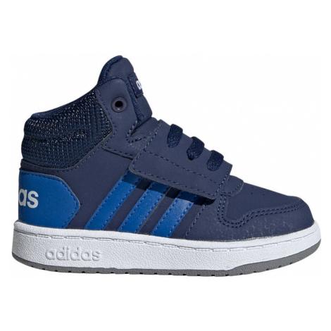 Adidas Hoops Mid 2.0 I Dziecięce Granatowe (EE6714)