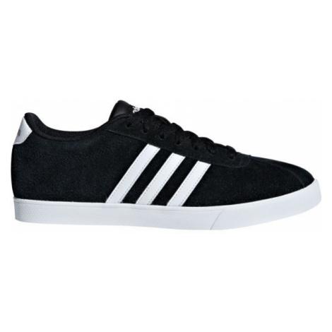 adidas COURTSET czarny 5 - Obuwie miejskie damskie