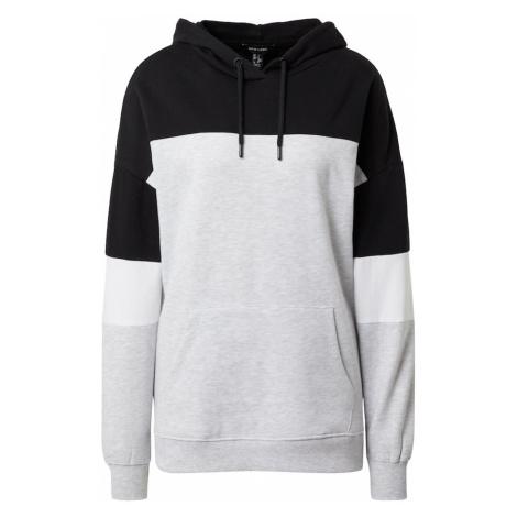 NEW LOOK Bluzka sportowa czarny / szary / biały