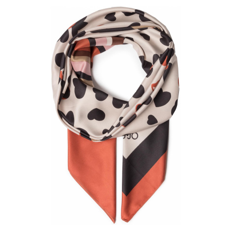 Chusta LIU JO - Foulard Pop Flower 2A0019 T0300 Coffee Milk X0255