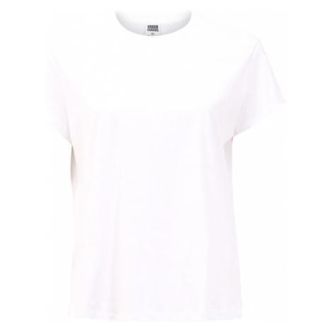 Urban Classics Curvy Koszulka 'Basic Box Tee' biały