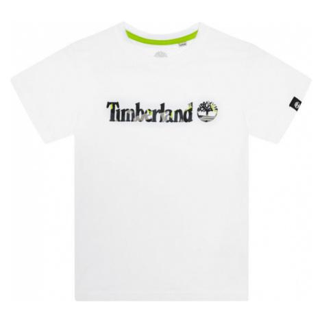 Timberland T-Shirt T45818 Biały Regular Fit