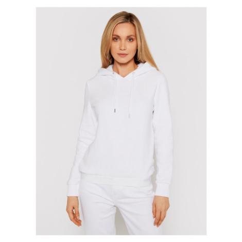 Calvin Klein Bluza Athleisure Hwk Hoodie K20K202184 Biały Regular Fit