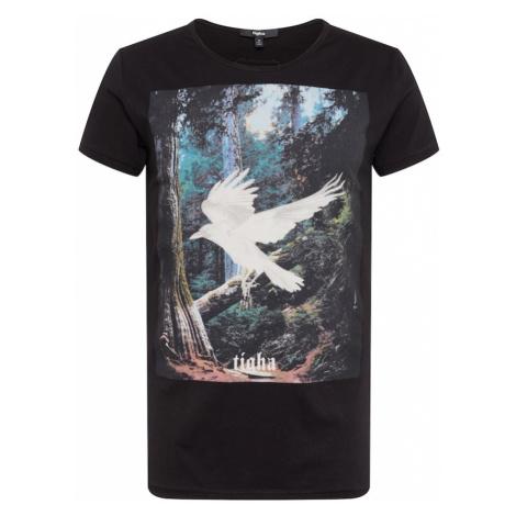 Tigha Koszulka 'Ghost Crow MSN' czarny