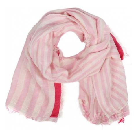 Zwillingsherz Chusta różowy / różowy pudrowy