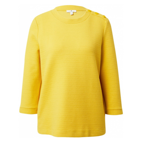 TOM TAILOR Bluzka sportowa żółty