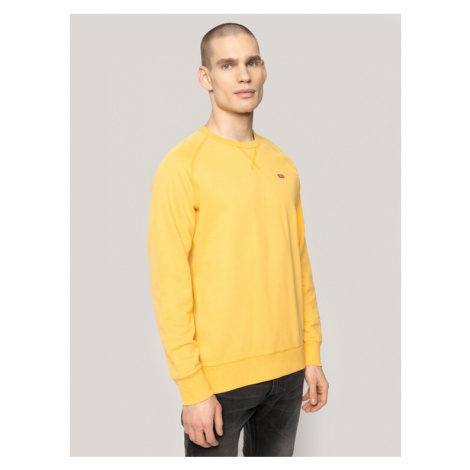 Levi's® Bluza RedTab Original Housemark Icon Crew 56176-0016 Żółty Regular Fit Levi´s