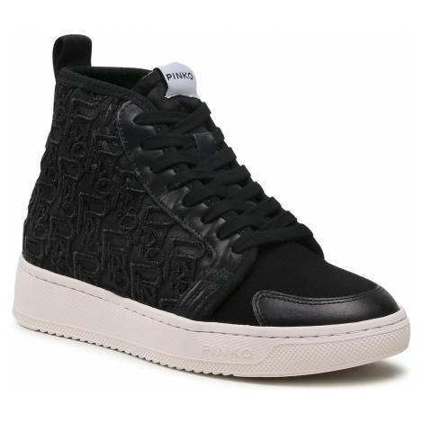 Sneakersy PINKO - Liquirizia High Top 3 Sneaker. PE 21 BLKS1 1H20UT Y73A Black Z99