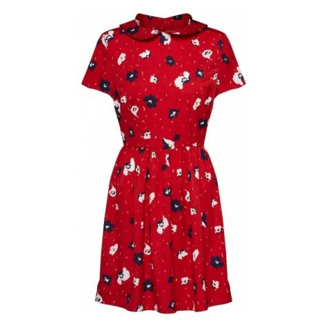 Boohoo Sukienka koszulowa czerwony