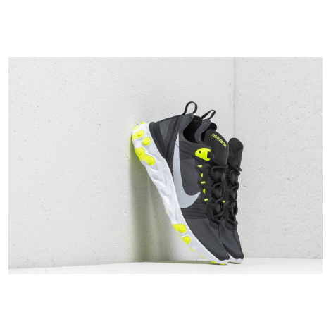 Nike React Element 55 Wmns Black/ Wolf Grey-Volt-Cool Grey