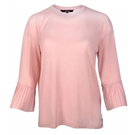 Vero Moda Ladies T-shirt Jakuri 3/4 mankietów Frill Top D2-2 Zephyr Melange
