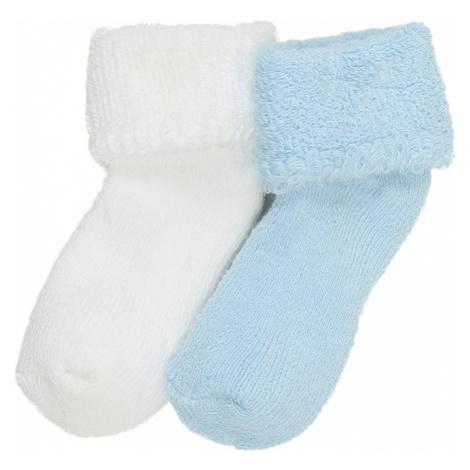 LILIPUT Skarpety jasnoniebieski / biały
