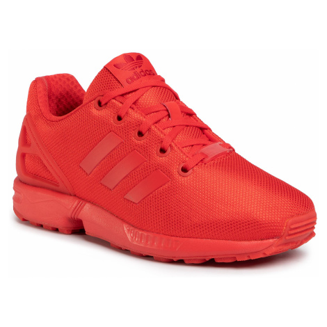 Buty adidas - Zx Flux J EG3823 Red/Red/Red