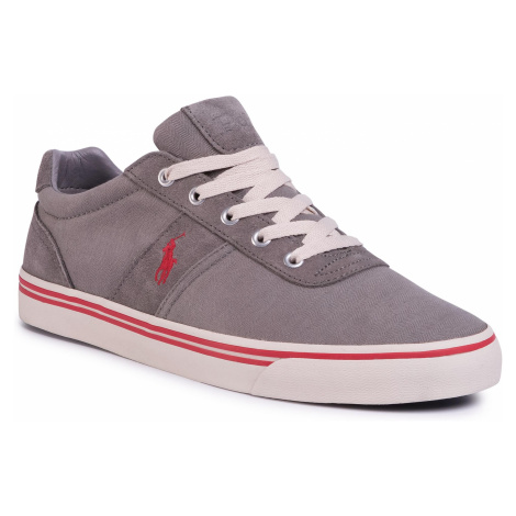Tenisówki POLO RALPH LAUREN - Hanford 816799510001 Ahtletic Grey/Red Pp