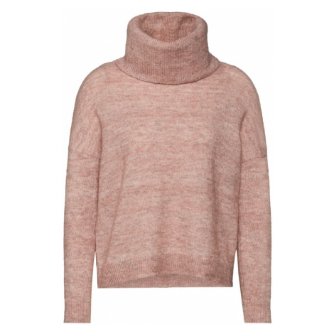 ONLY Sweter różowy pudrowy