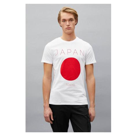 Koton Męski t-shirt biały