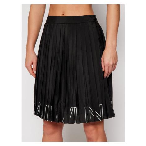 Calvin Klein Jeans Spódnica plisowana J20J215140 Czarny Regular Fit
