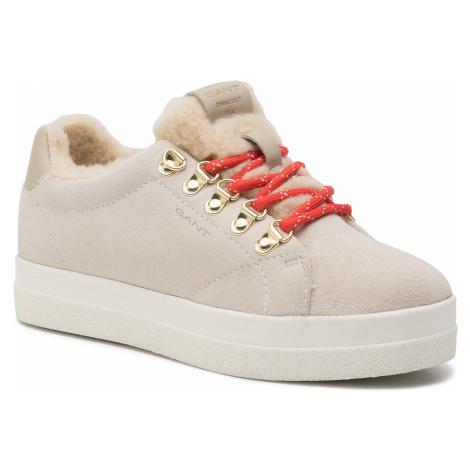 Sneakersy GANT - Aurora 19533860 Putty Cream Beige G27
