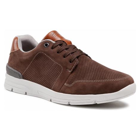 Sneakersy RIEKER - 16406-25 Braun