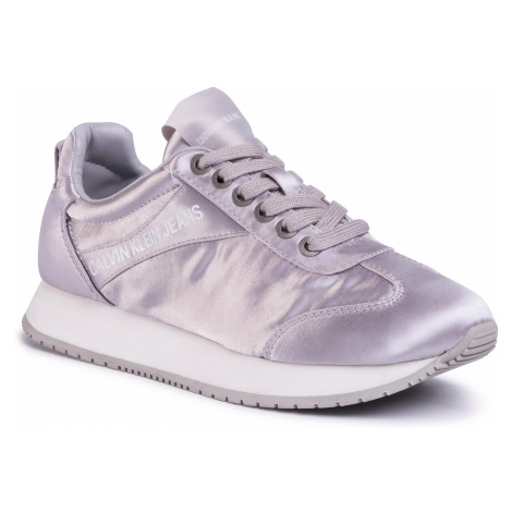 Sneakersy CALVIN KLEIN JEANS - Jill R7807 Soft Silver