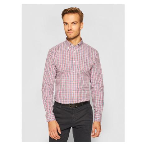 Tommy Hilfiger Tailored Koszula Check TT0TT07584 Kolorowy Regular Fit