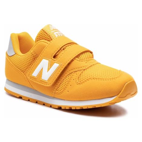 Sneakersy NEW BALANCE - YV373MG Żółty