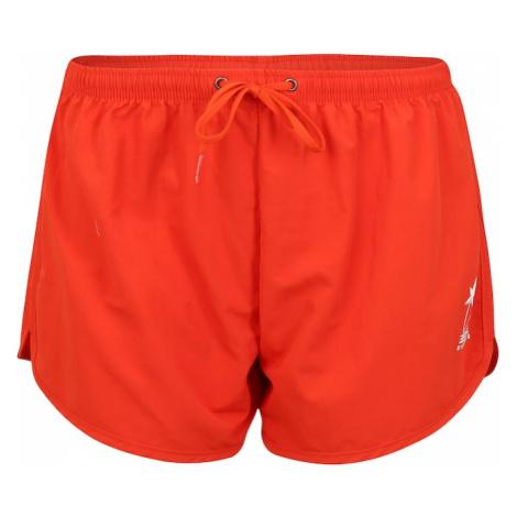 BILLABONG Szorty kąpielowe do kolan 'good time' pomarańczowo-czerwony