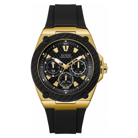 Zegarek GUESS - Legacy W1049G5 BLACK/GOLD