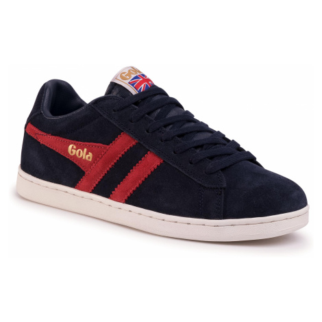 Sneakersy GOLA - Equipe Suede CMA495 Navy/Red
