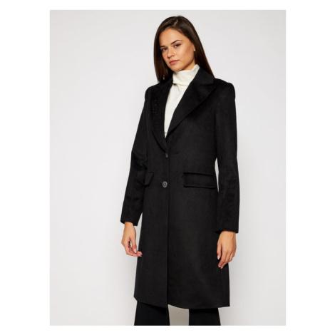 Guess Płaszcz przejściowy Adenora W0BL09 WDBD0 Czarny Slim Fit
