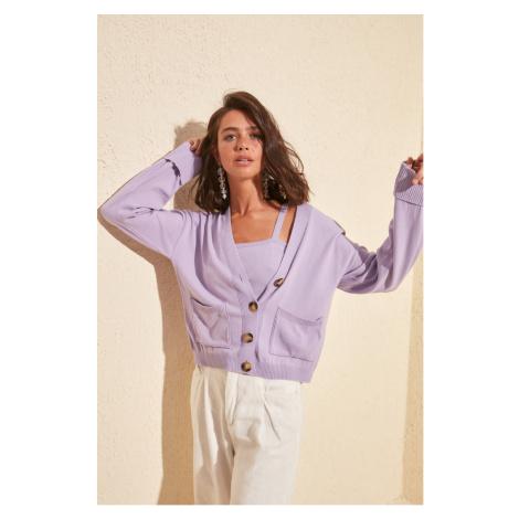 Women's blouse Trendyol Blouse - Cardigan set