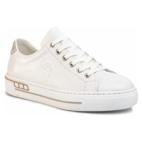 Sneakersy RIEKER - L88W1 - 80 Weiss