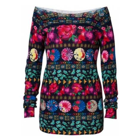 Desigual sweter damski Jers Nedeerman wielokolorowy