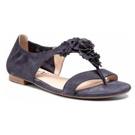 Sandały CAPRICE - 9-28100-22 Navy Pearl Sue 812