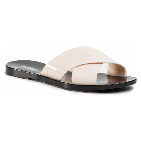Klapki MELISSA - Essential Slide Ad 32755 Black/Beige 51496