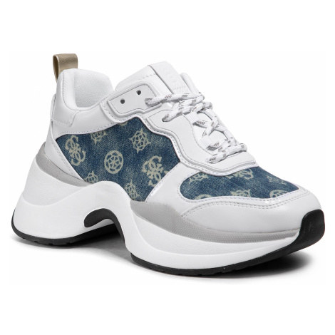 Sneakersy GUESS - Jenna FL5JEN DEN12 WHITE