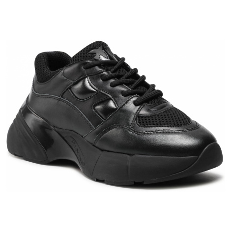 Sneakersy PINKO - Rubino 9 PE 21 BLKS21 1H20WH Y5ZM Nero Limousine Z99