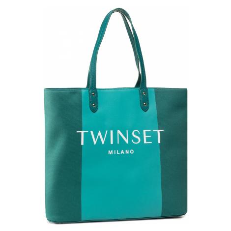 Torebka TWINSET - Shopping 201TO8220 Bic.Green Jad 05061