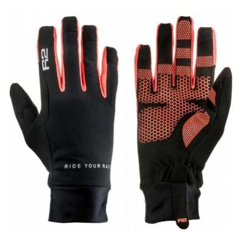R2 rękawice sportowe Cruiser Black/Neon Red