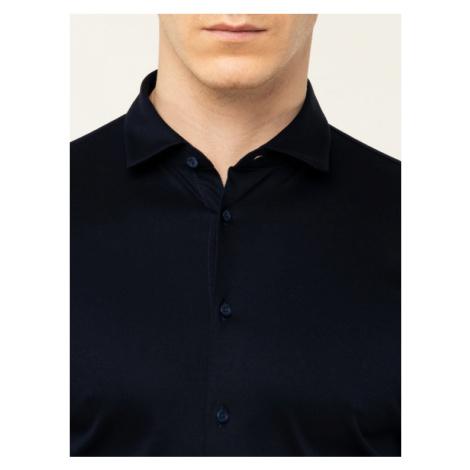 Digel Koszula 1297058 Granatowy Extra Slim Fit