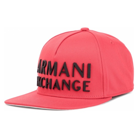 Czapka z daszkiem ARMANI EXCHANGE - 954100 9P153 29674 High Risk Red