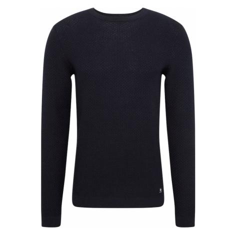 TOM TAILOR DENIM Sweter ciemny niebieski