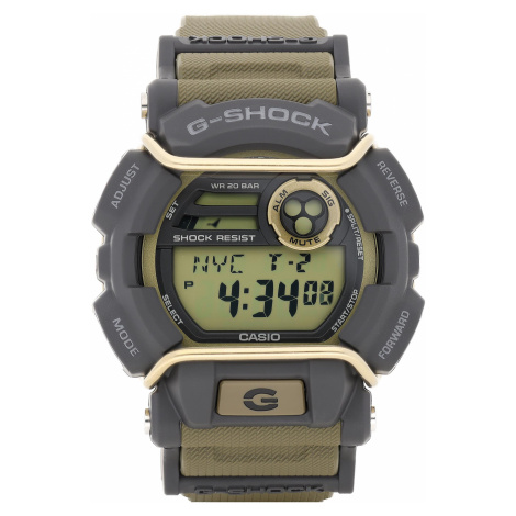 Zegarek G-SHOCK - GD-400-9ER Khaki/Grey Casio
