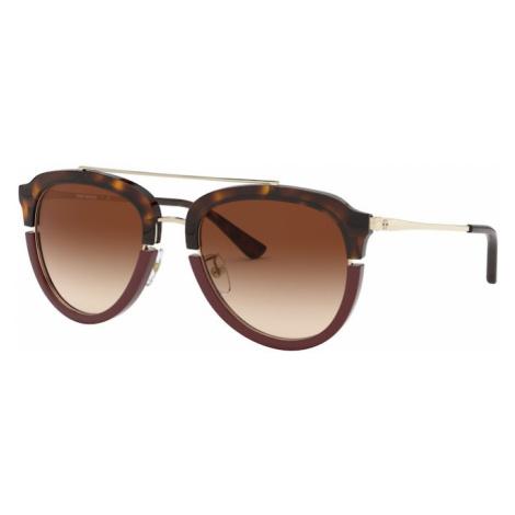 Tory Burch Okulary przeciwsłoneczne beżowy / brązowy