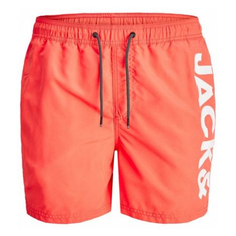 "Jack & Jones ""Bali Swimshorts Logo"" Hot Coral"