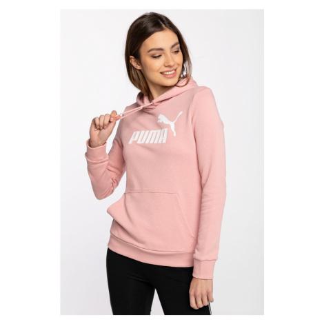 Bluza Puma Z Kapturem Ess Logo Hoodie Tr Bridal Rose 58679180 Pink