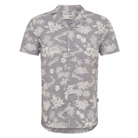 !Solid Koszula 'Brando Cuba Palm' szary