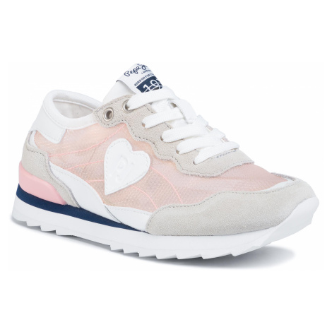 Sneakersy PEPE JEANS - Belle Mesh PGS30438 Pink 325