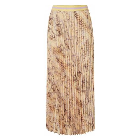 Rich & Royal Spódnica żółty / jasnobrązowy